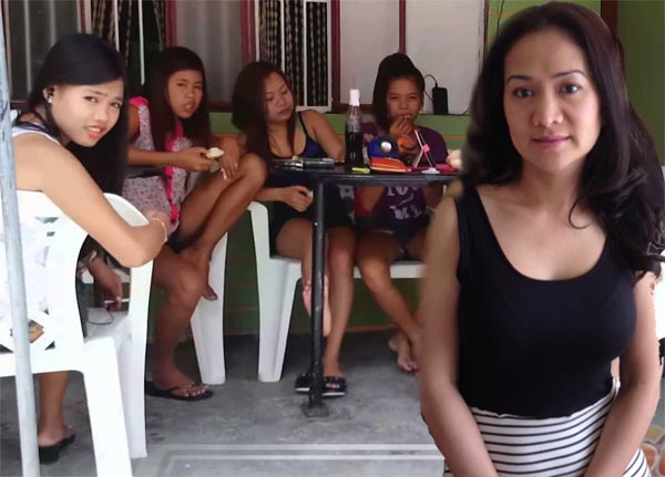 Filipino girls in the Philippines